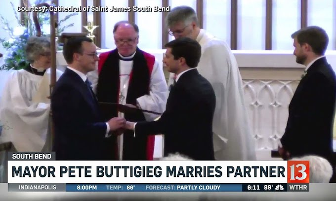 Democrat Buttigieg to Mike Pence: if you oppose my sexuality, 'your quarrel, sir, is with my creator'