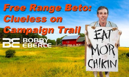Clueless Beto: Let them eat 'free range' chicken!  Ocasio-Cortez in campaign trouble again?