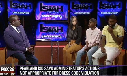 Outrage after Texas school administrator covers black student's haircut design with permanent marker