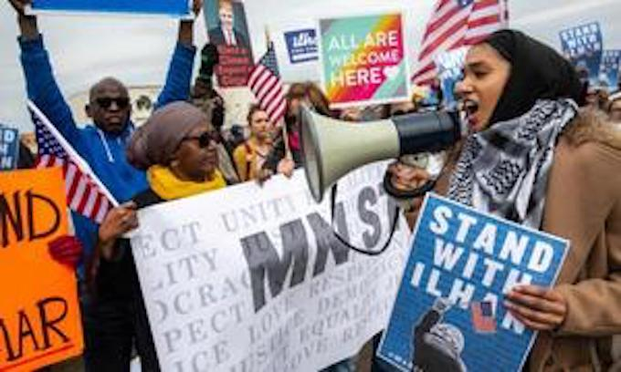 Ilhan Omar support group of Somali Americans surprised Muslims held accountable for 9/11