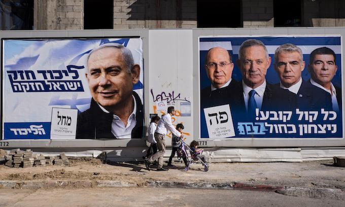 Netanyahu, Gantz election Israel's defining moment