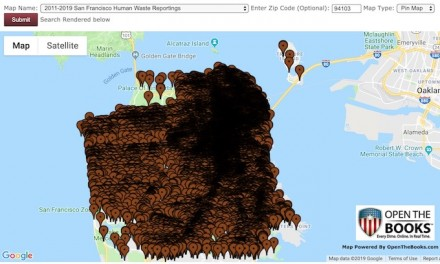 San Francisco's human waste problem plotted on foul map: 'The city itself is in trouble'