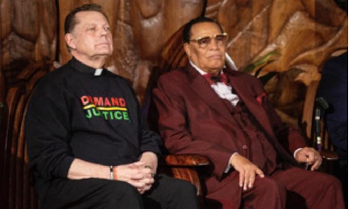 Farrakhan rants against 'satanic' Jews