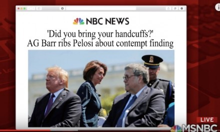 Barr teases Pelosi over upcoming contempt vote: 'Madam speaker, did you bring your handcuffs?'