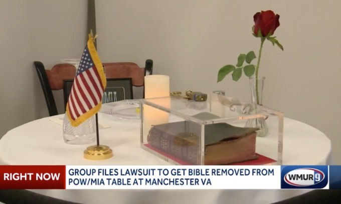 Military Religious Freedom Foundation sues to remove Bible from VA hospital