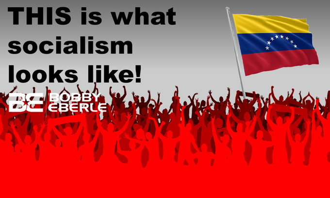 Hey millennials, still love socialism? Venezuela on the brink! Biden leads Dems in new poll