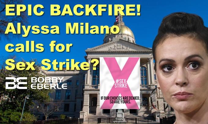 EPIC BACKFIRE: Alyssa Milano calls for sex strike? Trump likens Mayor Pete to Mad Magazine icon