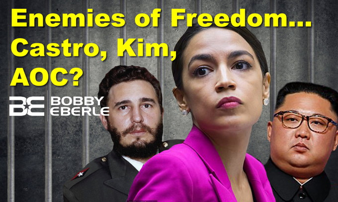 Memorial Day Mishap? Fresno baseball video labels AOC an enemy of freedom! Apology needed?