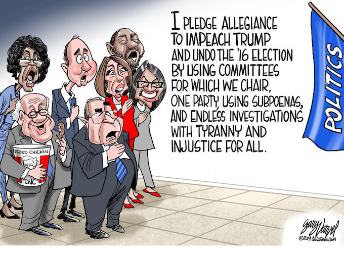 Democrats take their pledge