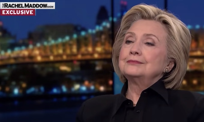Hillary Clinton: 'I'm living rent-free inside of Donald Trump's brain'