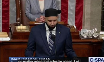 Israel-bashing Imam delivers opening prayer at House of Representatives