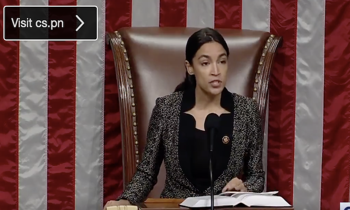 Ocasio-Cortez: Abortion bans are the 'patriarchy' attempting to own women