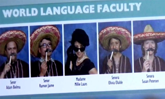 Spanish teachers don sombreros, mustaches in 'insensitive' yearbook photos, Calif. school says