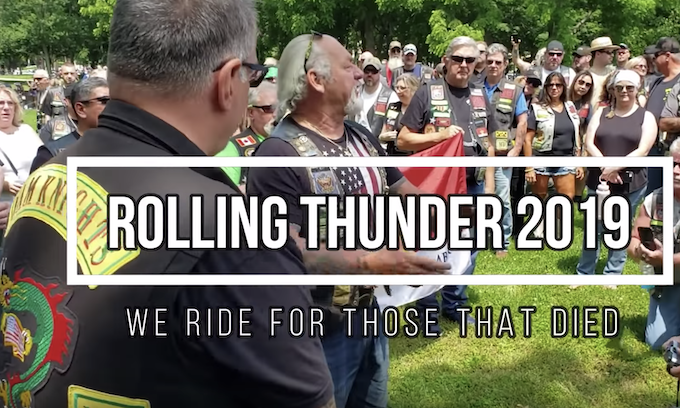 Rolling Thunder rides for the fallen; maybe the last time in DC