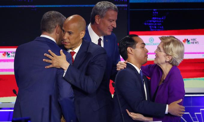 Decriminalizing illegal immigration drives first Democrat debate