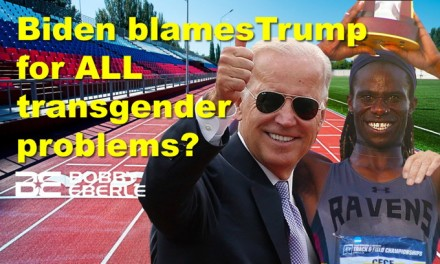Biden blames Trump for ALL transgender violence? Guess who won the NCAA women's track race?