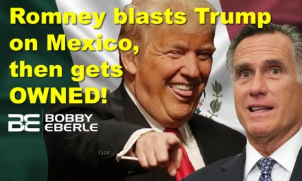 Romney blasts Trump on Mexico tariffs, gets OWNED; Oops… park's glaciers DIDN'T vanish