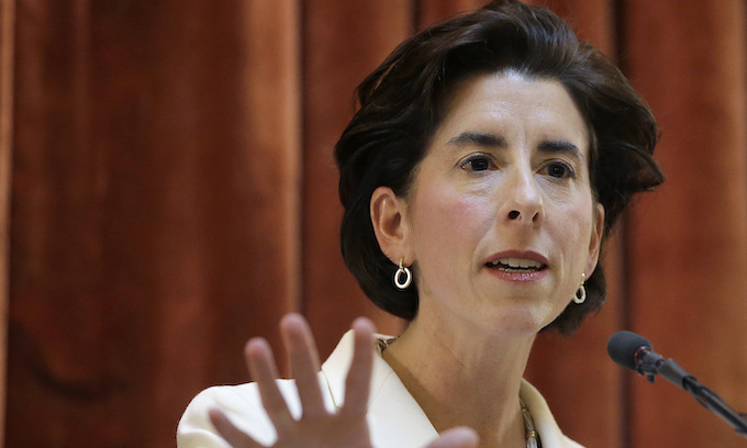 Gina Raimondo, Rhode Island governor, signs late-term abortion bill minutes after passage