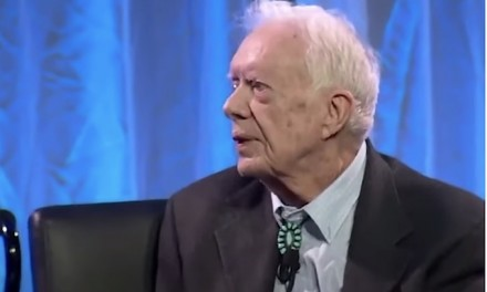 Jimmy Carter at 94: Trump lost the election and then was put into office because Russians interfered on his behalf