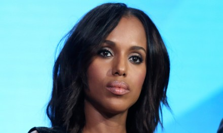 Actress Kerry Washington joins push for automatic voter registration in NY