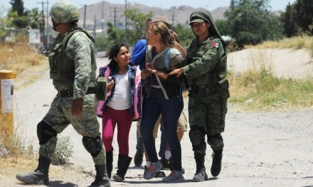 Mexico deploys 15,000 troops to U.S. border to block migrants