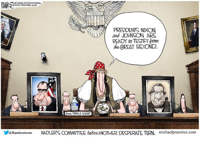 Nadler's next witnesses
