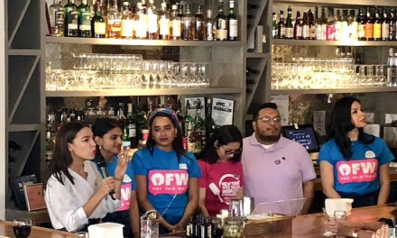 Ocasio-Cortez bartends at pricey Queens eatery for an hour in support of minimum wage