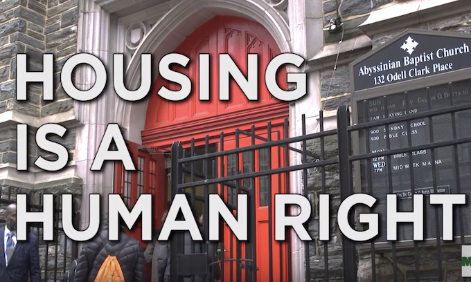 Tenants call for universal rent control in rally at Cuomo's NYC office