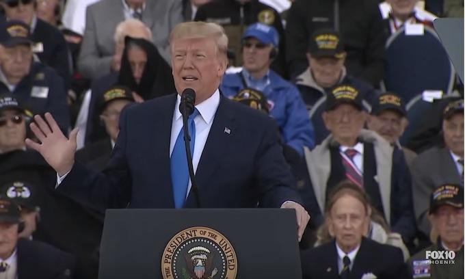 Hell freezes over as Jim Acosta, Joe Scarborough praise Trump's D-Day speech