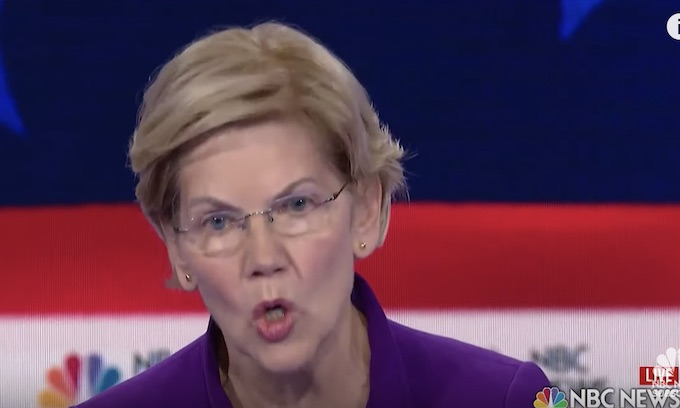 Elizabeth Warren will tax gun makers at 30% on firearms, 50% on ammunition