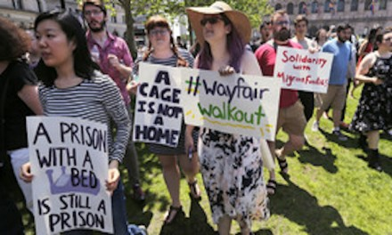 For some, Trump hate trumps all; Wayfair protest a banner day for ignorance