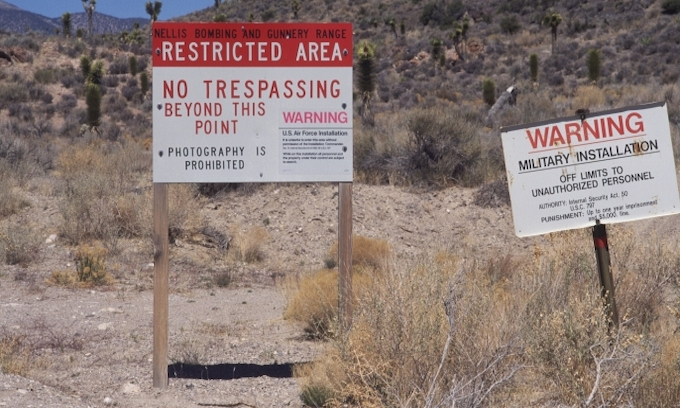 US Air Force warns against joke event to 'storm Area 51'