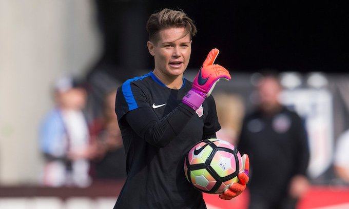 Ashlyn Harris, U.S. women's soccer team goalie, blasts Christian player Jaelene Hinkle as 'homophobic'