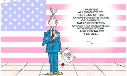 Democrat says the Pledge of Allegiance