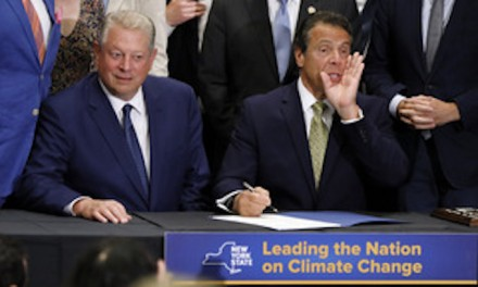 Andrew Cuomo signs big climate plan without plans to achieve goals