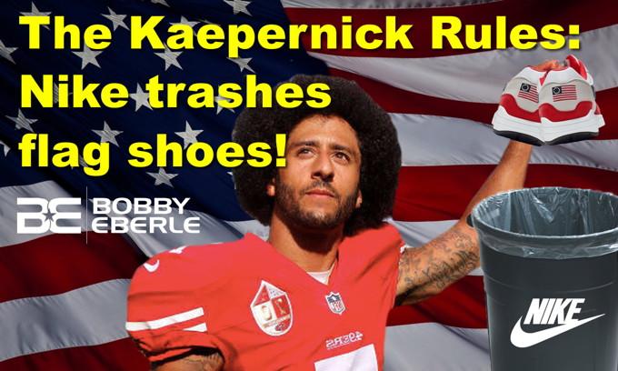 Kaepernick whines, so Nike dumps flag shoes; AOC's insane border patrol story FALLS APART!