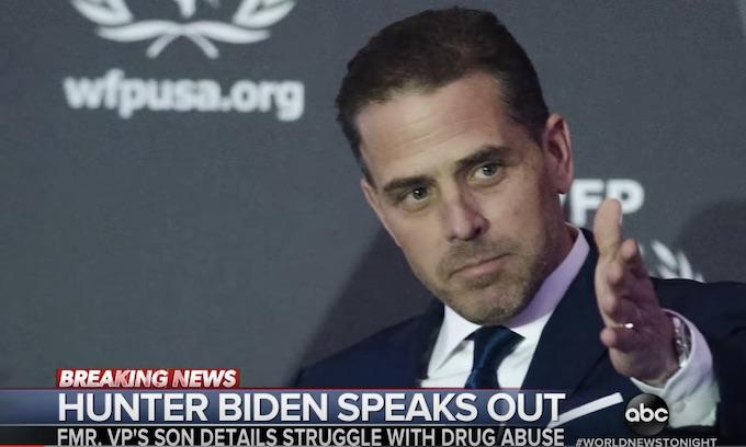 Biden's son scoffs at Trump's calls for probe into Ukraine business ties; 'F*** you, Mr. President'