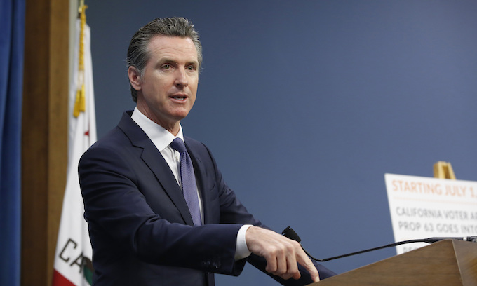 Gov. Newsom signs bill banning gun sales at Del Mar Fairgrounds