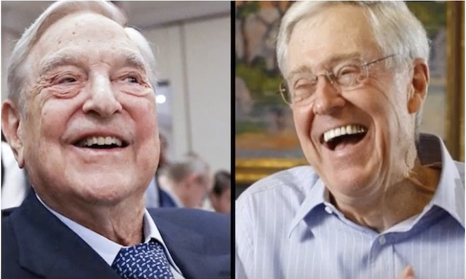 George Soros, Charles Koch bringing another U.N. in America's gates