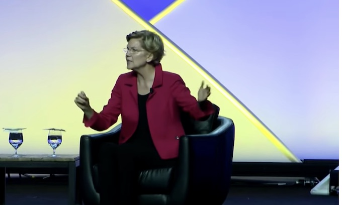Pandering: Elizabeth Warren touts impeachment push at NAACP conference