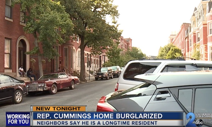 Baltimore Crime: Elijah Cummings' home burglarized hours before Trump's first tweets