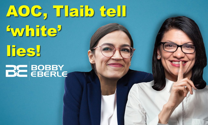 Wrong! AOC, Tlaib slam Trump with 'white' lies? Democrats can't have it both ways on guns