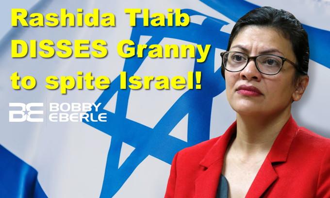 Rashida Tlaib disses Granny to spite Israel! Real agenda of New York Times EXPOSED?