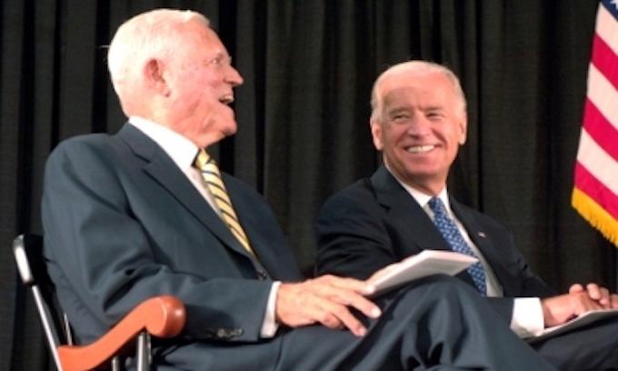 Biden praises Fritz Hollings, Democrat segregationist senator, as 'great, great friend'