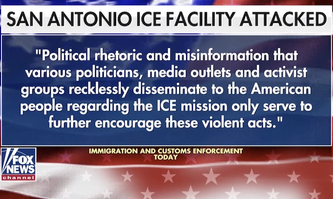 SA ICE Office Shot Up This Week: Who's Funding Open Borders?