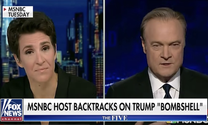 Lawrence O'Donnell of MSNBC retracts Trump-Russia report