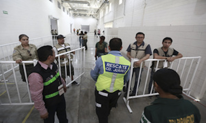 Mexico opens first government shelter for asylum seekers
