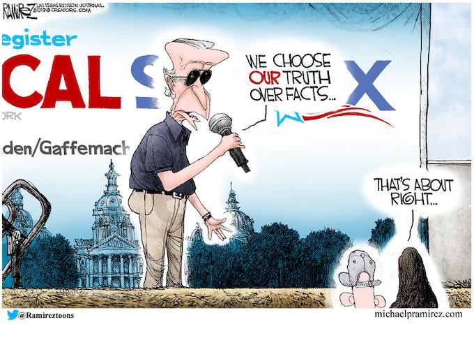 Biden accidentally tells the truth!