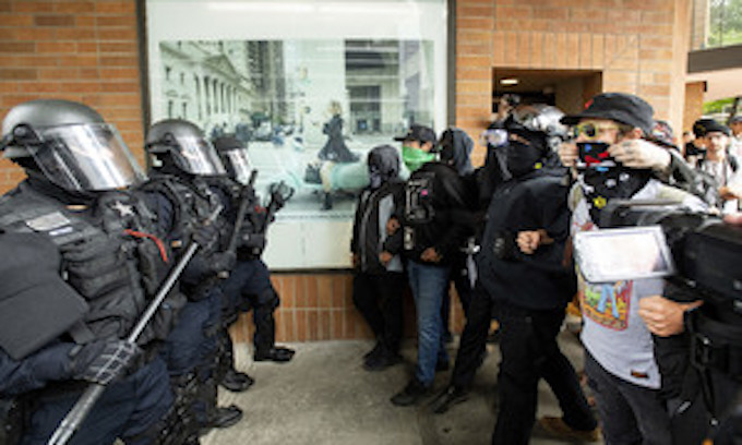 Portland largely quelled political violence last weekend