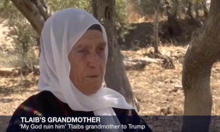 Rashida Tlaib's 'siti' asks God to curse Trump